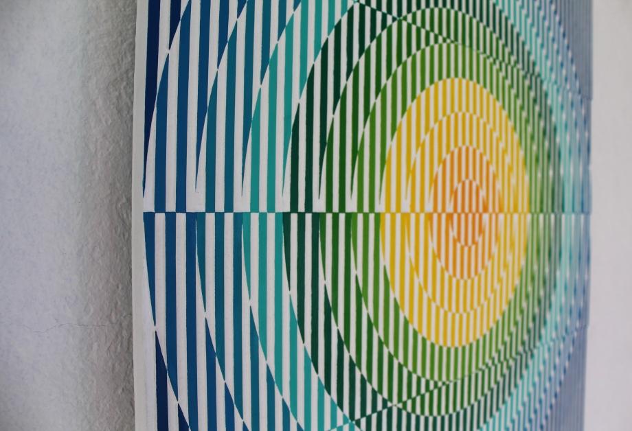 Arp 299 - 50x50 cm Detalle Izquierda