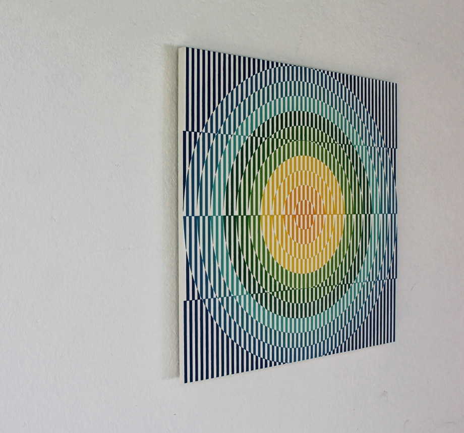 Arp 299 - 50x50 cm Izquierda