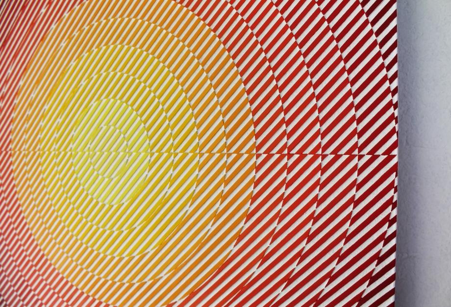 VY CMa de Neón - 50x50 cm Detalle Derecha