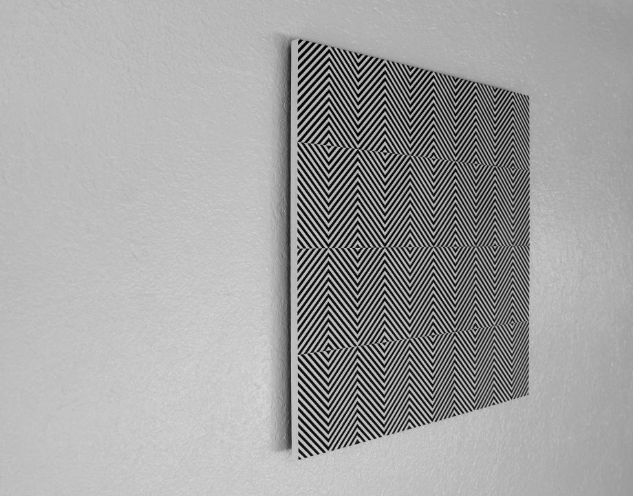 Ademán - 50x50 cm Izquierda I