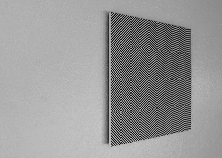 Ademán - 50x50 cm Izquierda