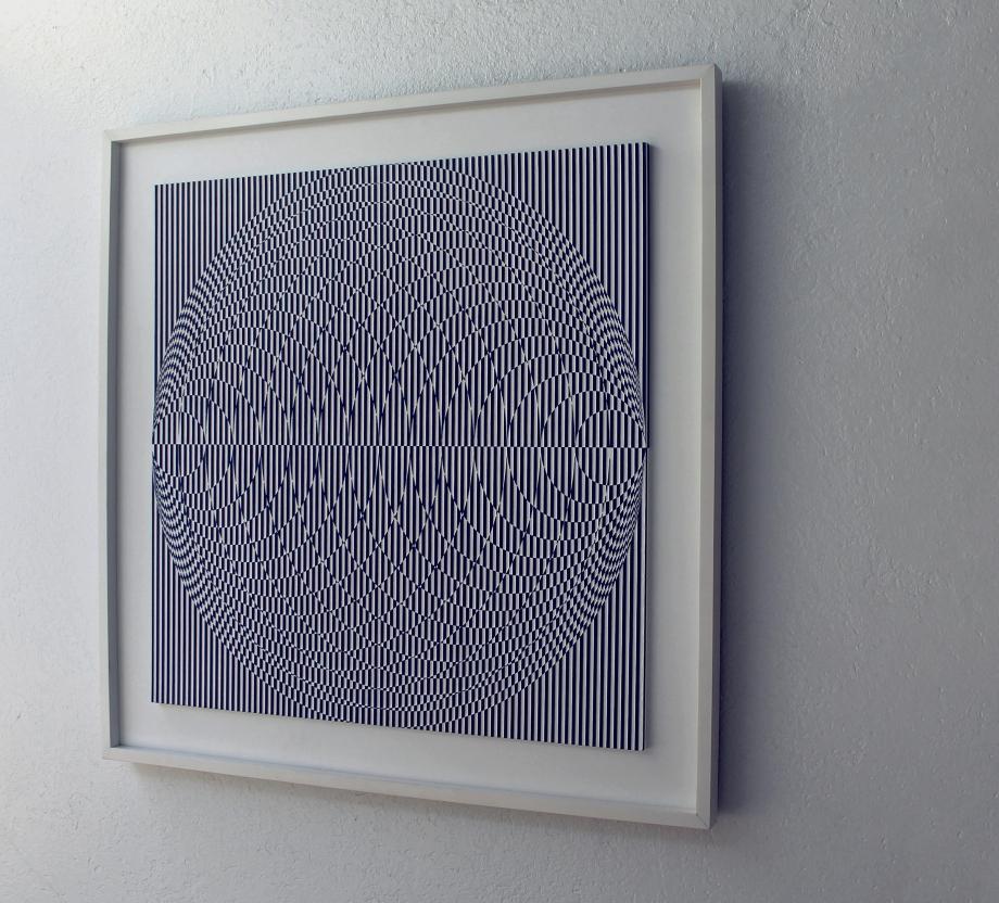 Vesica de Klein - 90x90 cm Derecha