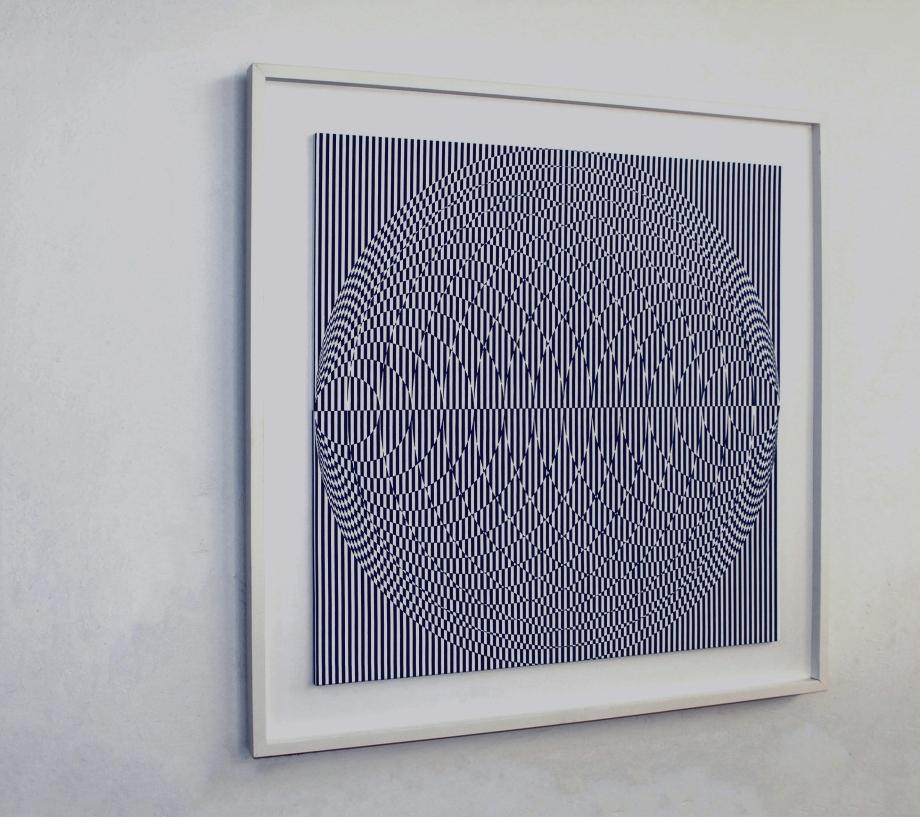 Vesica de Klein - 90x90 cm Izquierda