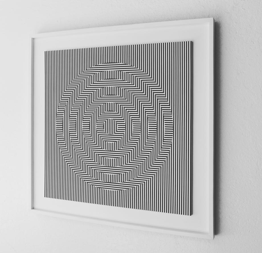 Oscilación - 90x90 cm Derecha