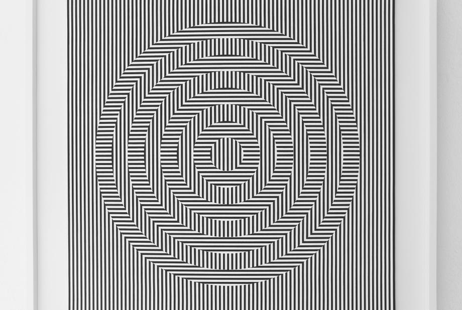Oscilación - 90x90 cm Detalle V