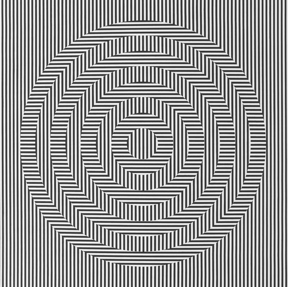 Oscilación - 90x90 cm Detalle