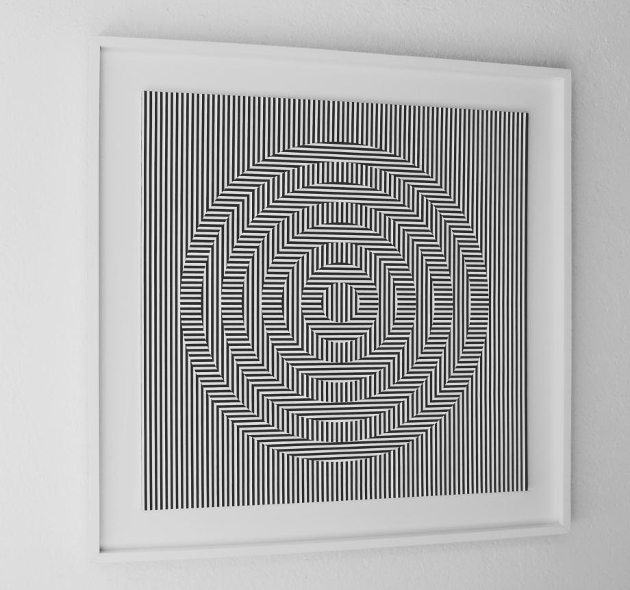 Oscilación - 90x90 cm Izquierda