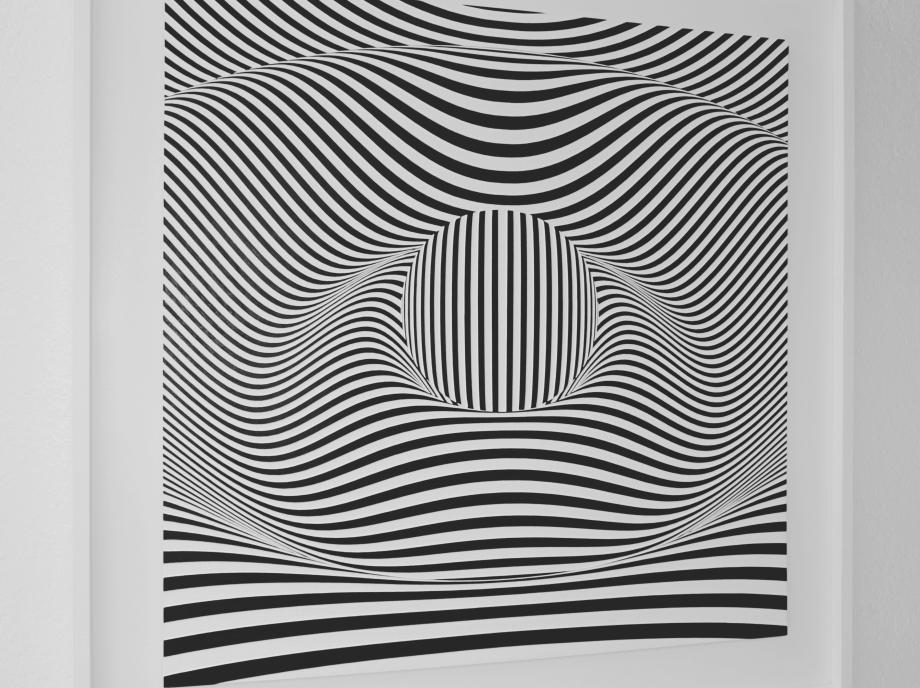 Serendipia - 90x90 cm Izquierda Detalle