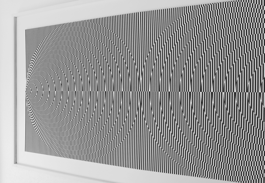 Efecto Doppler - 90x170 cm Detalle Derecha