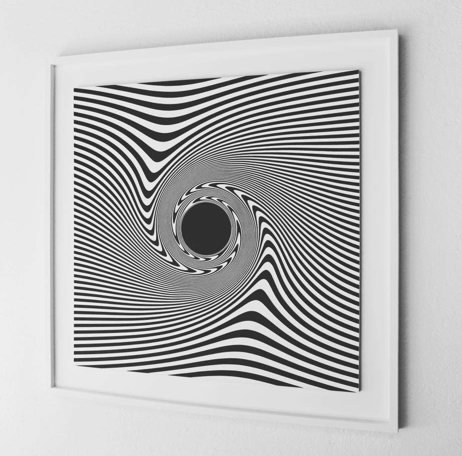 Estrella Oscura de John Michell - 90x90 cm Derecha