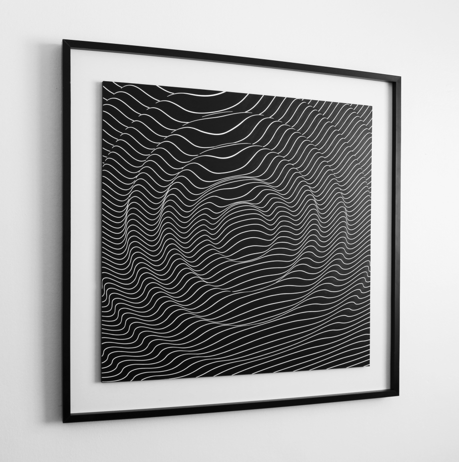 Ondas Gravitacionales - 90x90 cm
