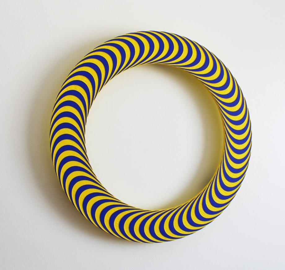 Uróboro 9 - 76x76 cm