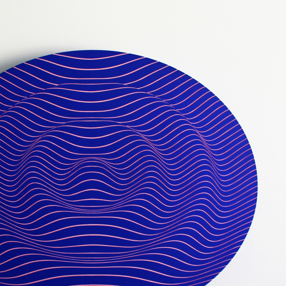 Ondas Gravitacionales I - 76x61 cm