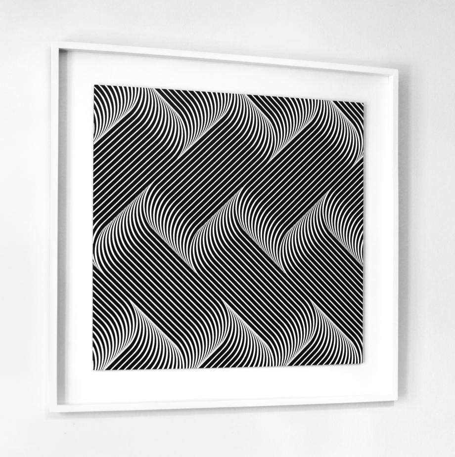 Fluctuación cuántica Energía del vacío - 100x100 cm